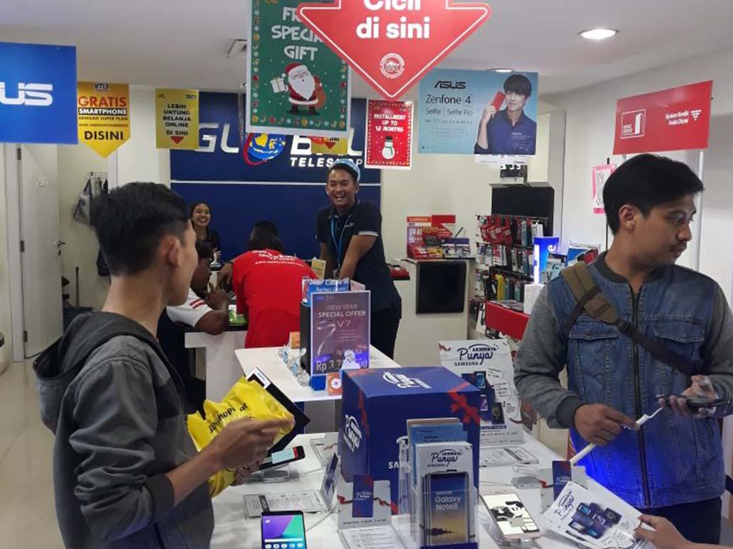 Global Plasa Simpang lima Semarang