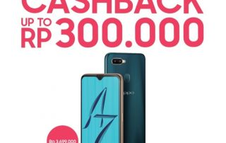 Pre Order OPPO A7 Cashback Up to 300rb
