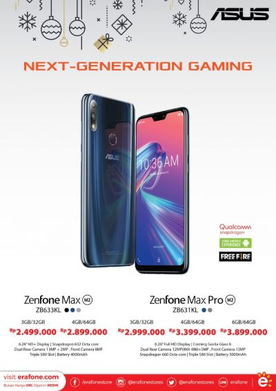 Erafone Next Generation Gaming Asus Zenfone Max