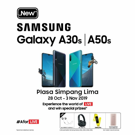 New Samsung Galaxy A30s A50s
