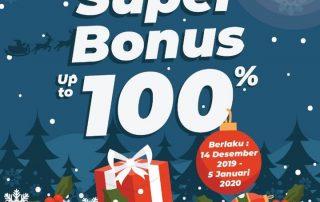 Timezone Super Bonus 100%