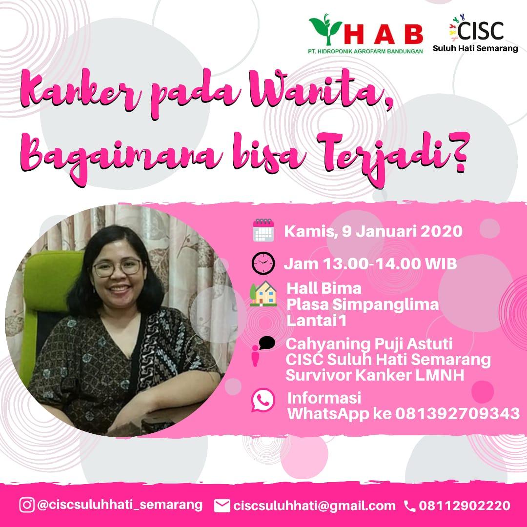 Talkshow CISC : Kanker Pada Wanita