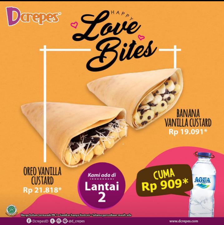 Promo Dcrepes Happy Love Bites