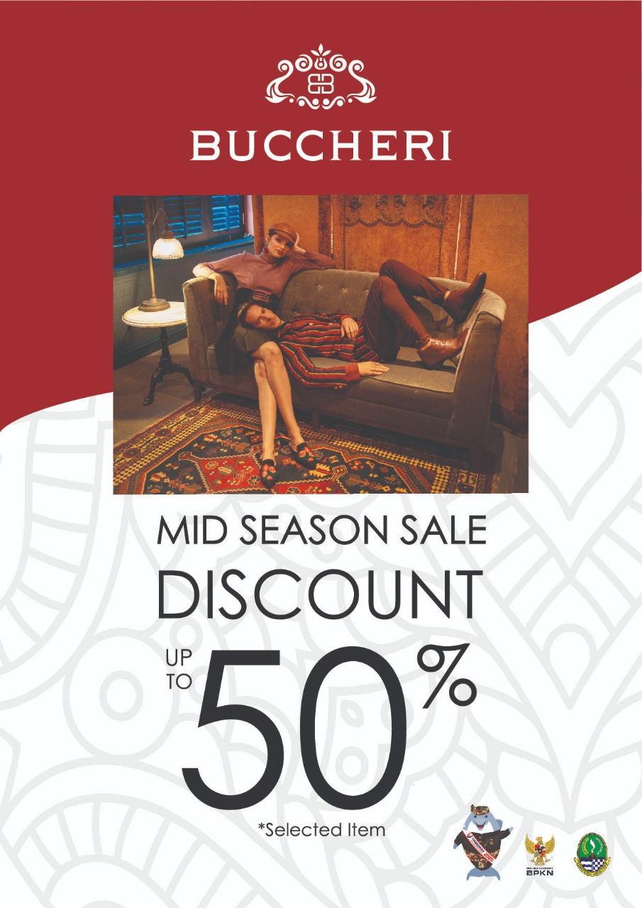 Buccheri Mid Season Sale Discount