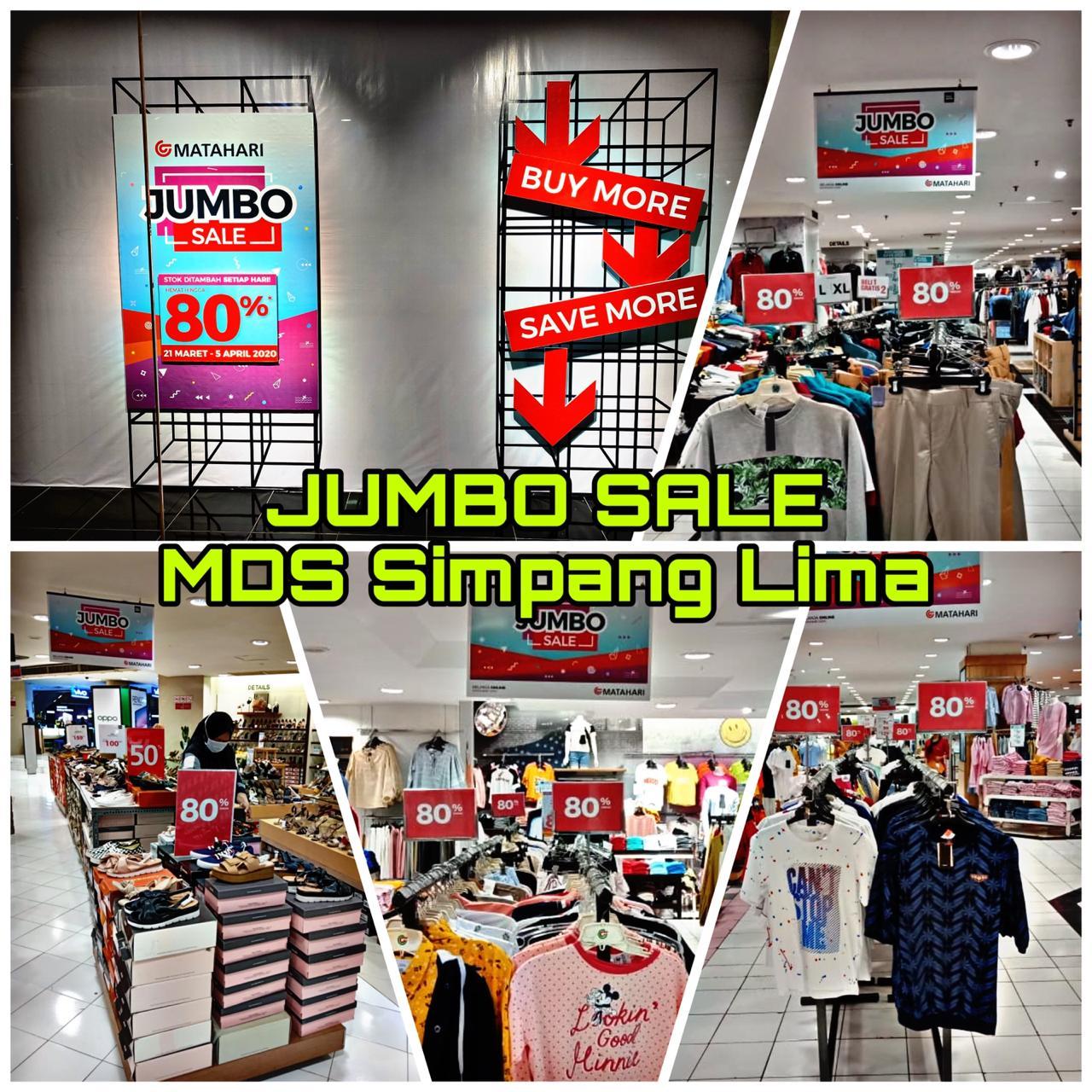 Jumbo Sale Matahari Semarang