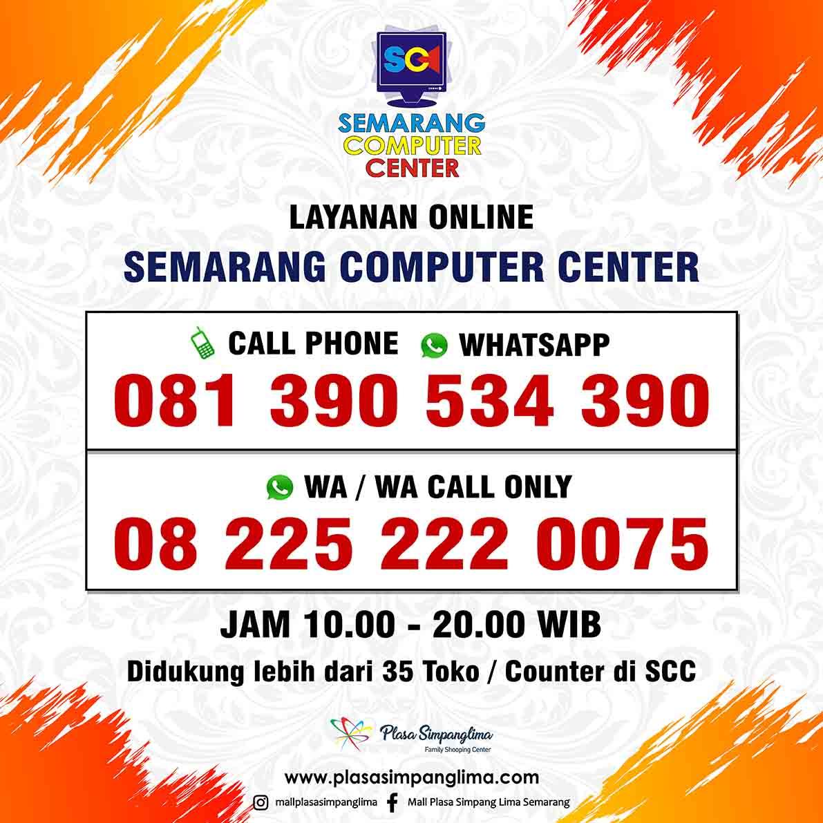 Layanan Online Semarang Computer Center