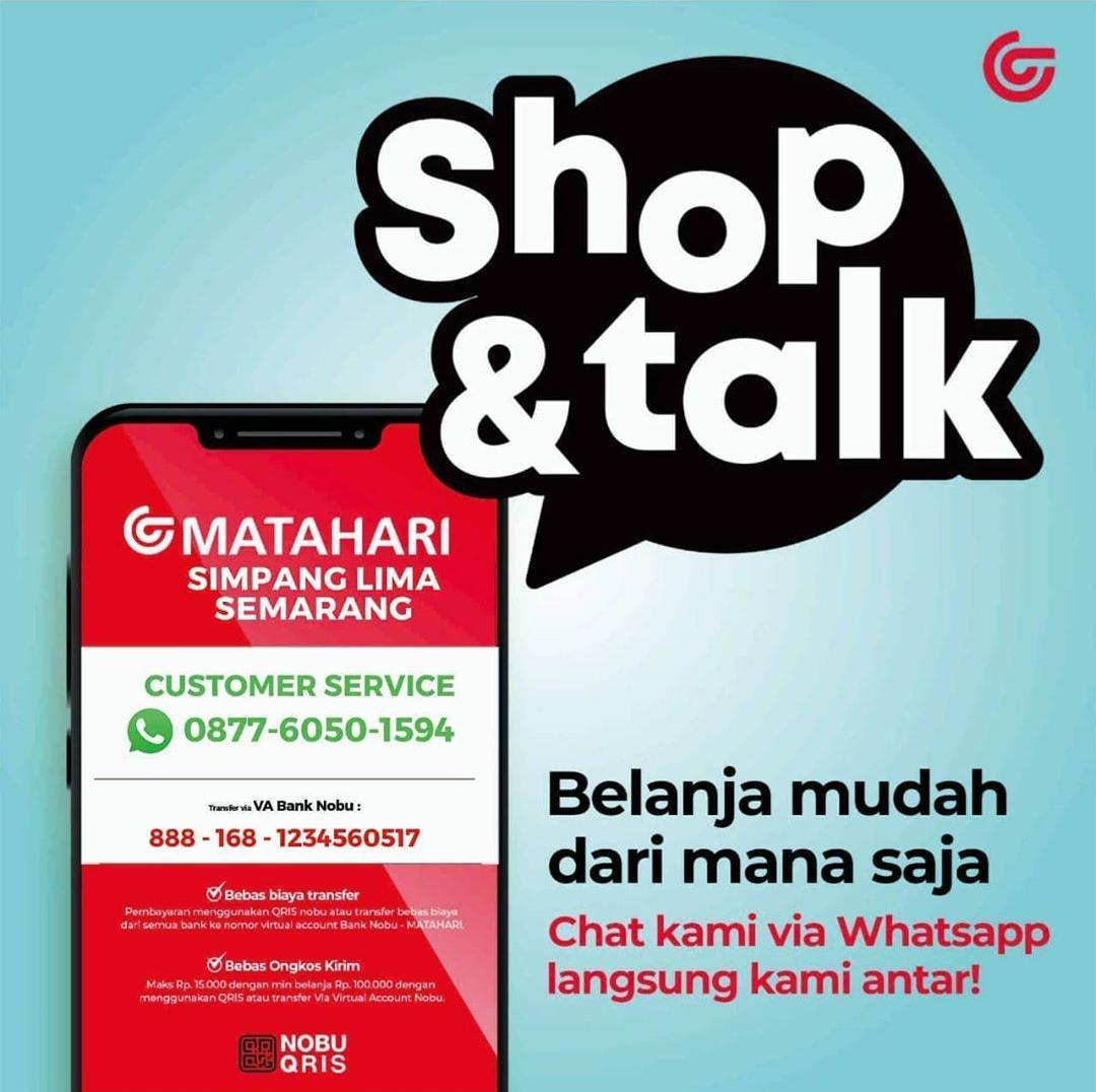 Shop & Talk Matahari Simpanglima Semarang