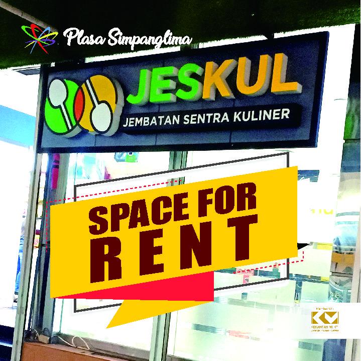 Space For Rent JESKUL (Jembatan Sentra Kuliner)
