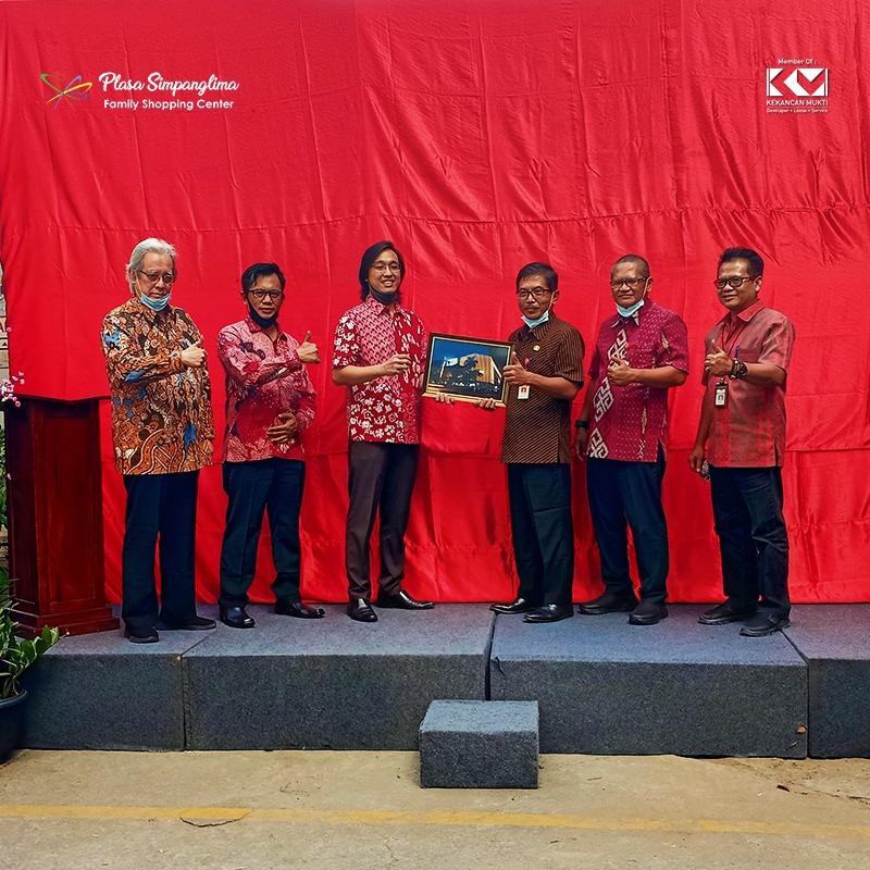 Laporan Serah Terima Pekerjaan Facade Plasa Simpanglima Ke Pemerintah Kota Semarang