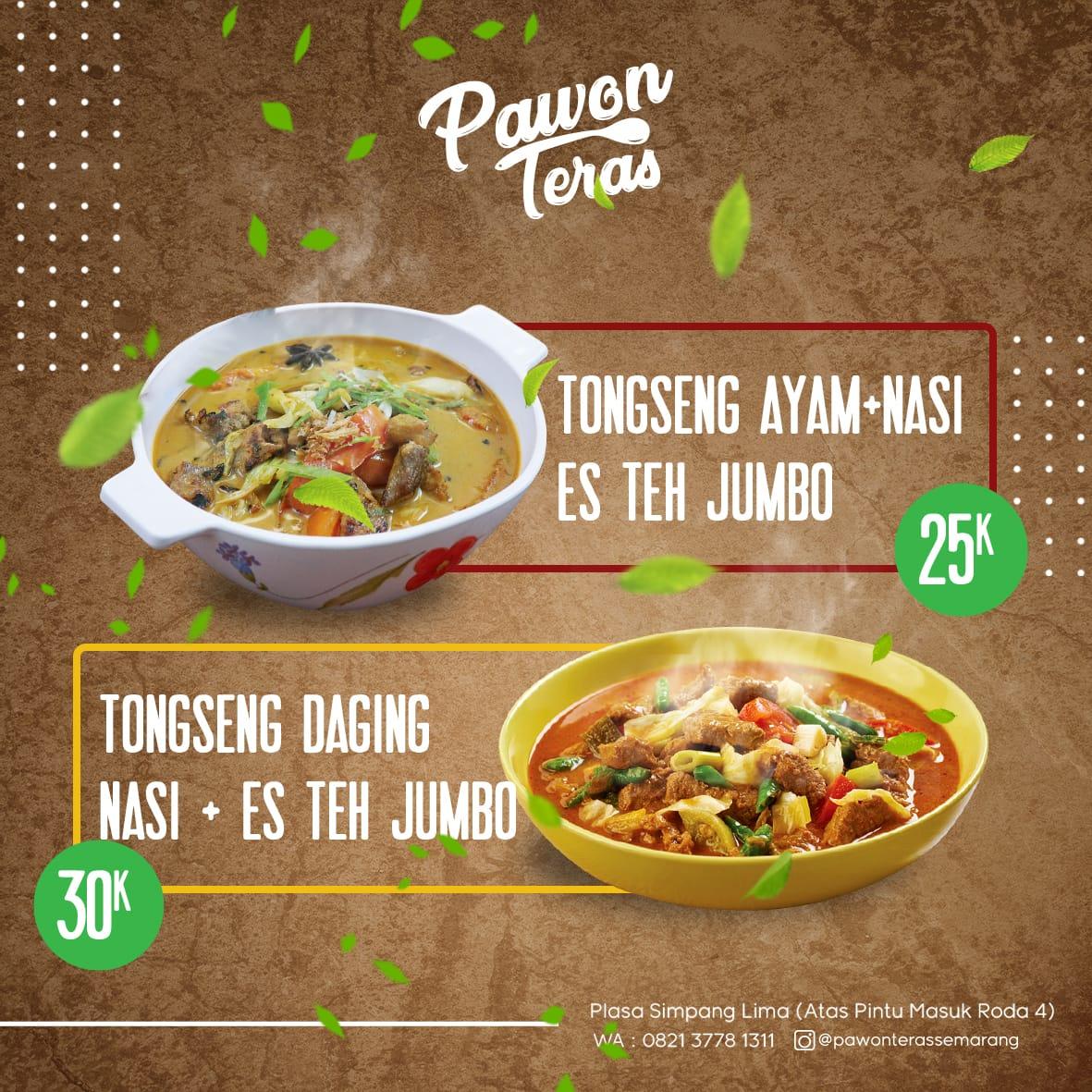 Promo Paket Tongseng Pawon Teras