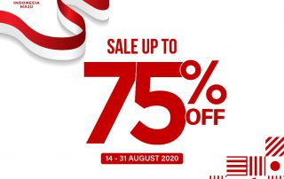 Promo Kemerdekaan Buti Sale Up To 75%