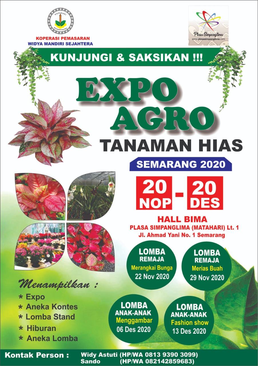 Expo Agro Tanaman Hias