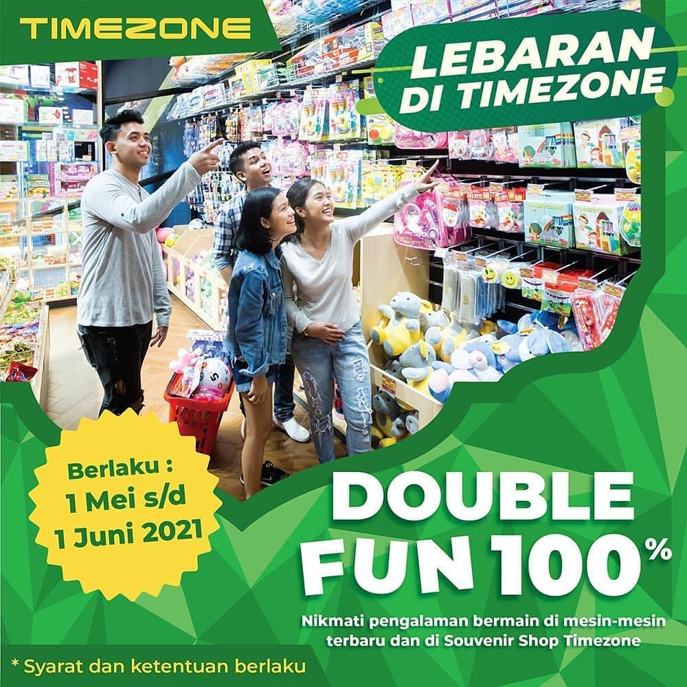 Double Fun 100% Lebaran di Timezone Plasa Simpanglima Semarang