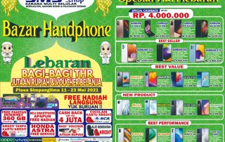 Bazar Handphone SMS Shop Plasa Simpanglima 11-23 Mei 2021