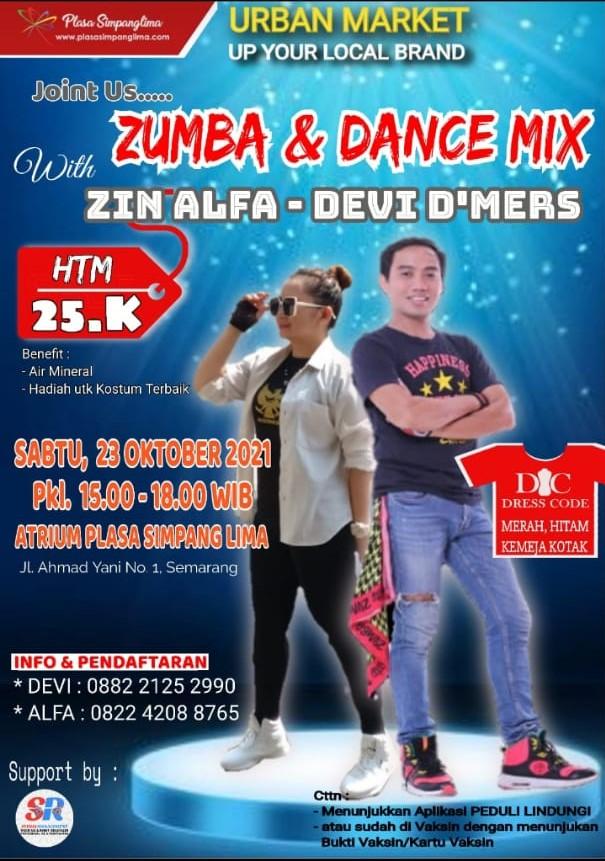 Zumba & Dance Mix Zin Alfa – Devi D'Mers